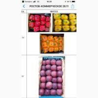 Продаем яблоки, апельсины.болгарский перец
