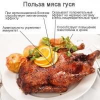 Мясо гуся - гусиная тушка