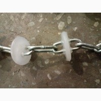 Цепь-шайба для линии раздачи сухого корма, d 45 мм (не залитое звено)
