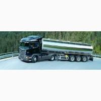 Перевозка автоцистернами наливных грузов. перевозка грузов. поставка