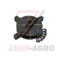 Ротор в сборе для дробилки мощностью 30 кВт