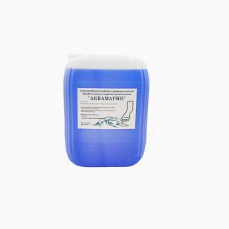 Готовый раствор для копытных ванн АКВАМАРИН (медный купорос)