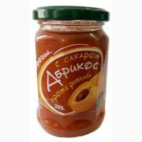 Абрикос протертый с сахаром