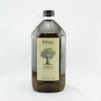 Рафинированное оливковое масло IONIA Greece - 5л, - для жарки ПЭТ