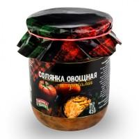Консервы овощные Солянка из свежей капусты с грибами ГОСТ 500 г