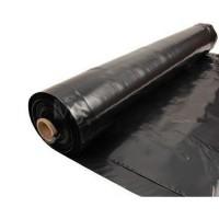 Пленка укрывная полиэтиленовая черная 100 метров